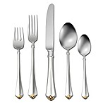 Oneida® Golden Juilliard 20-Piece Place Setting