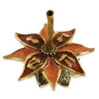 Quest Collection Flower Petals Dreidel with Stand