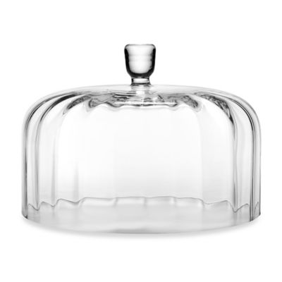 reed barton heritage collection austin crystal cake dome - Glass Cake Dome