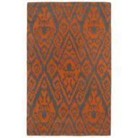 Kaleen Evolution 2-Foot x 3-Foot EVL02 Rug in Orange
