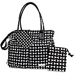 Fisher-Price® 5-Piece Tote in Black Bow