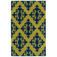 Kaleen Evolution 5-Foot x 7-Foot 9-Inch EVL05 Rug in Wasabi