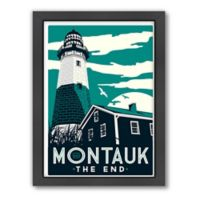 Americanflat Montauk Lighthouse Digital Print Wall Art