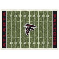 NFL Atlanta Falcons 7-Foot 8-Inch x 10-Foot 9-Inch Large Home Field Rug