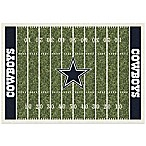 NFL Dallas Cowboys 3-Foot 10-Inch x 5-Foot 4-Inch Small Home Field Rug