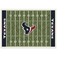 NFL Houston Texans 7-Foot 8-Inch x 10-Foot 9-Inch Large Home Field Rug