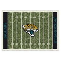 NFL Jacksonville Jaguars 7-Foot 8-Inch x 10-Foot 9-Inch Large Home Field Rug