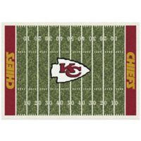 NFL Kansas City Chiefs 7-Foot 8-Inch x 10-Foot 9-Inch Large Home Field Rug