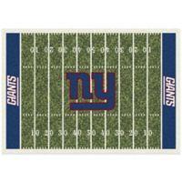 NFL New York Giants 5-Foot 4-Inch x 7-Foot 8-Inch Medium Home Field Rug