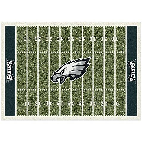 NFL Philadelphia Eagles Home Field Rug Bed Bath amp Beyond