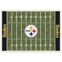 NFL Pittsburgh Steelers 7-Foot 8-Inch x 10-Foot 9-Inch Large Home Field Rug
