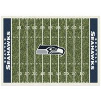 NFL Seattle Seahawks 7-Foot 8-Inch x 10-Foot 9-Inch Large Home Field Rug