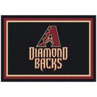 MLB Arizona Diamondbacks 3-Foot 10-Inch x 5-Foot 4-Inch Small Spirit Rug