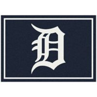 MLB Detroit Tigers 2-Foot 8-Inch x 3-Foot 10-Inch Extra Small Spirit Rug