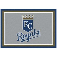 MLB Kansas City Royals 2-Foot 8-Inch x 3-Foot 10-Inch Extra Small Spirit Rug