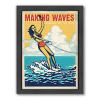 Americanflat Making Waves Digital Print Wall Art