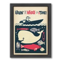 Americanflat Havin' A Whale of a Time Digital Print Wall Art