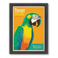 Americanflat Parrot Palace Digital Print Wall Art