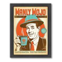"Americanflat ""Manly Mojo"" Digital Print Wall Art"