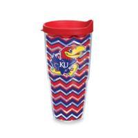 Tervis® University of Kansas 24 oz. Chevron Wrap Tumbler with Lid