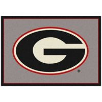 University of Georgia 3-Foot 10-Inch x 5-Foot 4-Inch Small Spirit Rug