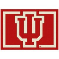 Indiana University 3-Foot 10-Inch x 5-Foot 4-Inch Small Spirit Rug