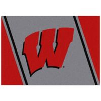 University of Wisconsin 3-Foot 10-Inch x 5-Foot 4-Inch Small Spirit Rug