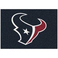 NFL Houston Texans 5-Foot 4-Inch x 7-Foot 8-Inch Medium Team Spirit Rug