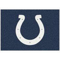 NFL Indianapolis Colts 5-Foot 4-Inch x 7-Foot 8-Inch Medium Team Spirit Rug