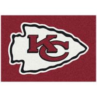 NFL Kansas City Chiefs 2-Foot 8-Inch x 3-Foot 10-Inch Extra Small Team Spirit Rug
