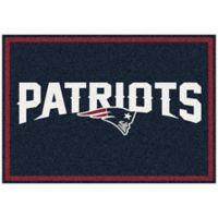 NFL New England Patriots 5-Foot 4-Inch x 7-Foot 8-Inch Medium Team Spirit Rug