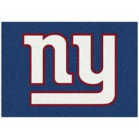 NFL New York Giants 3-Foot 10-Inch x 5-Foot 4-Inch Small Team Spirit Rug