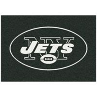 NFL New York Jets 3-Foot 10-Inch x 5-Foot 4-Inch Small Team Spirit Rug