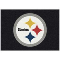 NFL Pittsburgh Steelers 3-Foot 10-Inch x 5-Foot 4-Inch Small Team Spirit Rug