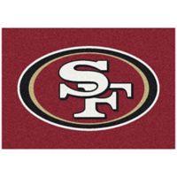 NFL San Francisco 49ers 5-Foot 4-Inch x 7-Foot 8-Inch Medium Team Spirit Rug