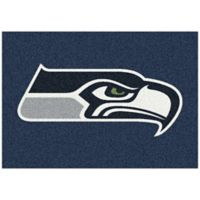 NFL Seattle Seahawks 3-Foot 10-Inch x 5-Foot 4-Inch Small Team Spirit Rug