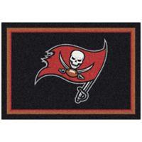 NFL Tampa Bay Buccaneers 7-Foot 8-Inch x 10-Foot 9-Inch Large Team Spirit Rug