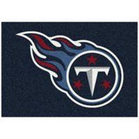 NFL Tennessee Titans 7-Foot 8-Inch x 10-Foot 9-Inch Large Team Spirit Rug