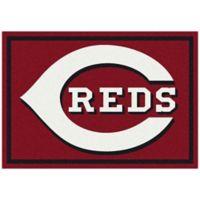 MLB Cincinnati Reds 7-Foot 8-Inch x 10-Foot 9-Inch Large Spirit Rug