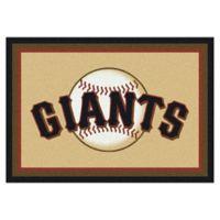 MLB San Francisco Giants 7-Foot 8-Inch x 10-Foot 9-Inch Large Spirit Rug