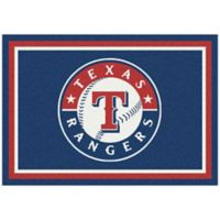 MLB Texas Rangers 2-Foot 8-Inch x 3-Foot 10-Inch Extra Small Spirit Rug