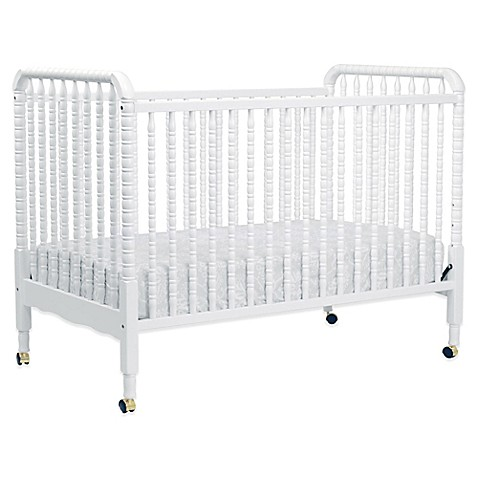 Buy Davinci Jenny Lind Stationary Crib In White From Bed Bath Beyond