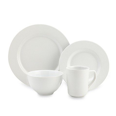 image of Real Simple® Dinnerware Collection in White