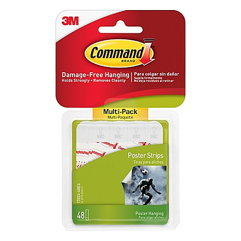 3M Command™ 48-Pack Poster Strips - Bed Bath & Beyond