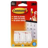 3M Command™ 3-Pack Micro Hooks