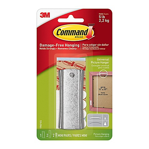 3m command universal picture hanger with stabilizer