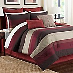 Hudson Full Comforter Set in Red