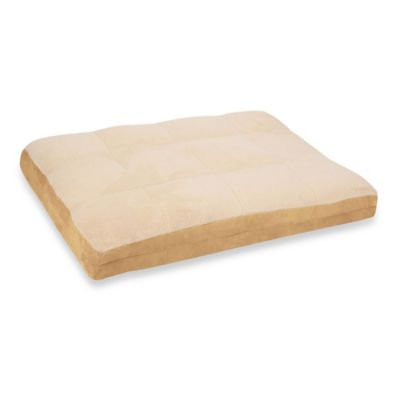 jenny pillow top 30inch x 40inch pet bed in tan