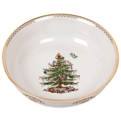 Spode® Christmas Tree Gold Large Bowl  sc 1 st  Bed Bath u0026 Beyond & Buy Spode® Christmas Tree Dinnerware from Bed Bath u0026 Beyond
