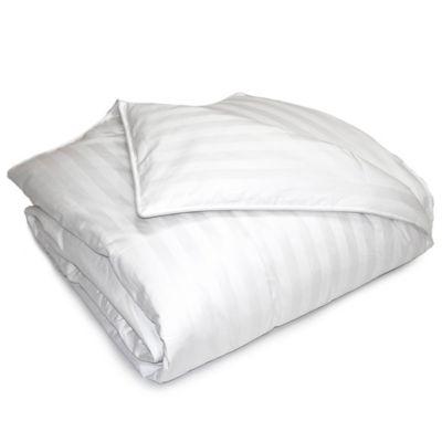 damask stripe 500 thread count down fullqueen comforter